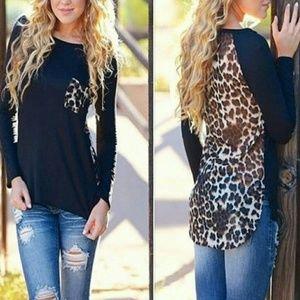 Tops - Cheetah Blouse